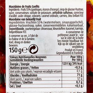 Vahine Macédoine de fruits confits