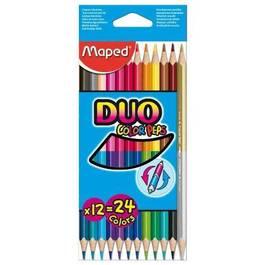 Maped Crayons de couleur Duo