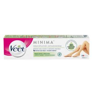 Veet Crème dépilatoire Peaux sèches Corps et jambes Minima