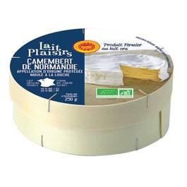Camembert de Normandie au lait cru,LAITS PLAISIRS,250g