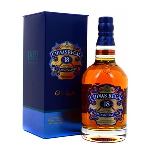 Chivas Regal Blended scotch whisky 18 ans 40°