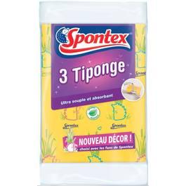 Spontex Eponges tissu tiponge extra souple