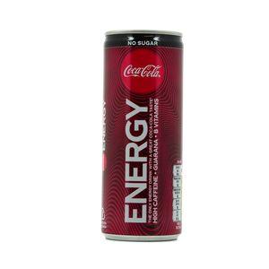 Coca-Cola Energy zero sucres