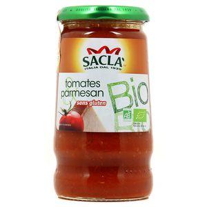 Sacla Sauce tomate parmesan bio sans gluten