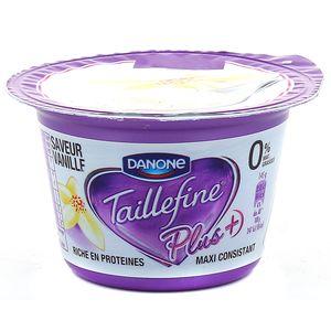 Spécialité au lait saveur vanille avec sucre et édulcolorant TAILLEFINE, 145g