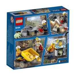 LEGO® City 60184- L'équipe minière