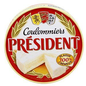 Président Coulommiers au lait pasteurisé