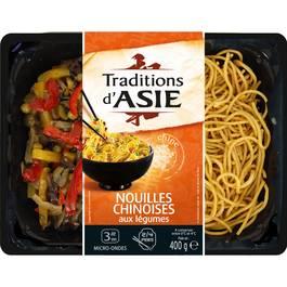 Nouilles Chinoises aux legumes