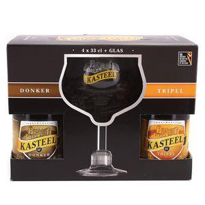Kasteel Bier Coffre bière Blonde et Brune