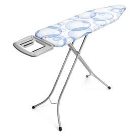 Brabantia Table à repasser avec repose fer vapeur bubbles