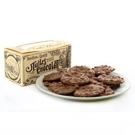 La Maison Du Biscuit Ballotin de tuiles chocolat au lait