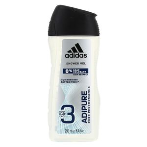 Adidas Gel douche 3en1 adipure pure performance