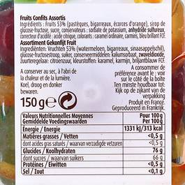 Vahine Fruits confits assortis
