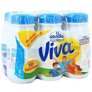 Candia Viva Lait U.H.T. vitaminé à 1,2% mg