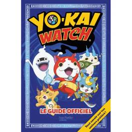 Hachette Jeunesse Yo-Kai Watch- Le guide officiel