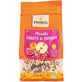 Priméal Muesli Quinoa-Fruits, Bio
