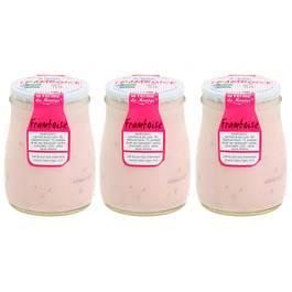 La Ferme du manège Yaourt Framboise au lait entier
