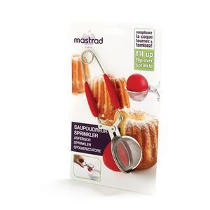 Mastrad Saupoudreur / Pince à thé Rouge