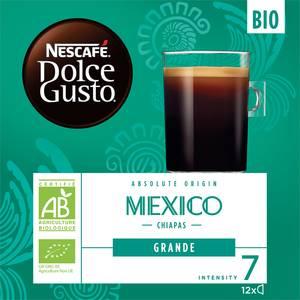 Nescafe Dolce Gusto Absolute origin mexico chiapas grande bio