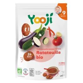 Yooji Purée de ratatouille bio surgelée en portions dès 9 mois