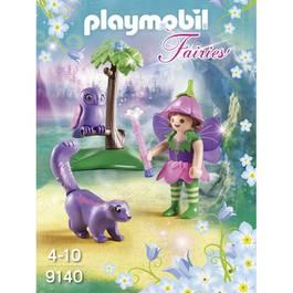 PLAYMOBIL® Fairies Fée avec hibou et putois