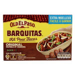 Old el Paso Kit pour tacos avec panadillas original doux