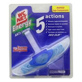 WC net Bloc WC actif énergy enzymes actifs