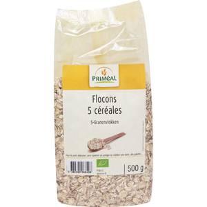 Priméal Flocons 5 céréales, bio