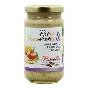 Florelli Sauce aubergines parmesan, basilic