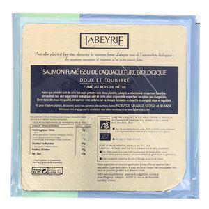 Labeyrie Saumon Fumé Bio de Norvège, 65g