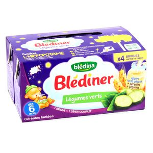 Blédina Blédîner légumes verts dès 6 mois