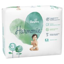 Pampers Harmonie Couche Taille 3 - 6/10 Kg