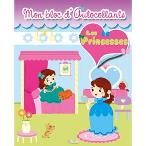 Mon bloc d'autocollants- Les Princesses