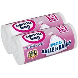 Handy Bag Sacs poubelle 10L salle de bains