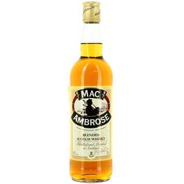 Mac Ambrose Scotch whisky 40°