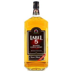 Label 5 Blended scotch whisky 40°