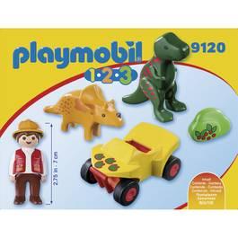 PLAYMOBIL® 1.2.3 Explorateur et dinosaures