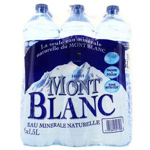 Mont Blanc Eau minérale naturelle