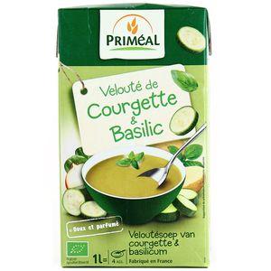 Velouté de courgette & basilic,PRIMEAL,1l