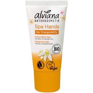 Alviana Crème Mains SPA à la fleur d'oranger bio