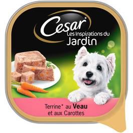 César Terrine au veau et aux carottes