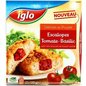 Délices de Poulet Tomate-Basilic