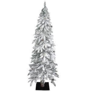 codico sapin artificiel floqu neige ternelle 495 branches 180 cm. Black Bedroom Furniture Sets. Home Design Ideas