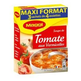 Soupe de tomates aux vermicelles,MAGGI,3x70g