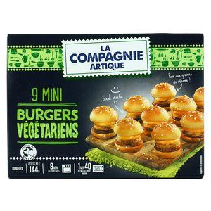 La Compagnie Artique 9 Mini Burgers végétariens