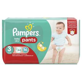 Pampers Babydry Pants Couches culottes T3 - 6/11kg