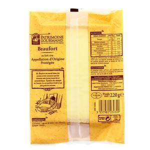 Patrimoine Gourmand Beaufort au lait cru de vache