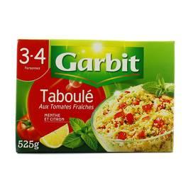 Garbit Taboulé aux tomates fraîches, citron, menthe et huile d'olive vierge