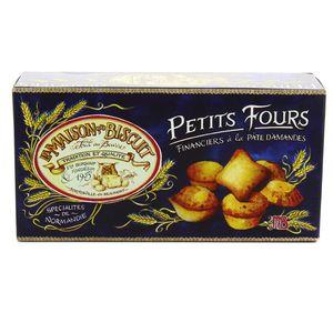 La Maison Du Biscuit Petits Fours financiers à la pâte d'amandes