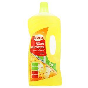 Cora Nettoyant multi-surfaces - Fraîcheur citron 1,5L